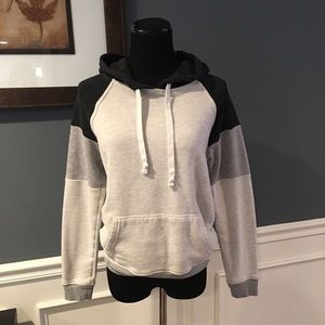 American Eagle Color block Hoodie Sz Small